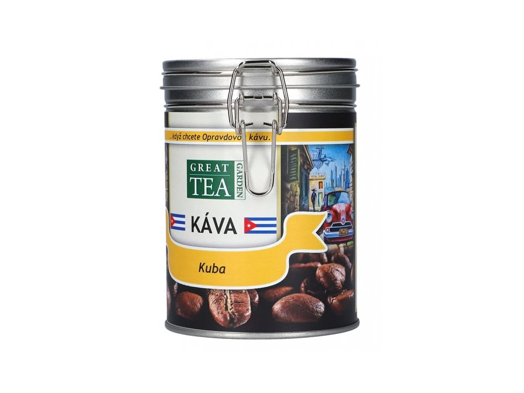 Káva arabica v dóze - Kuba