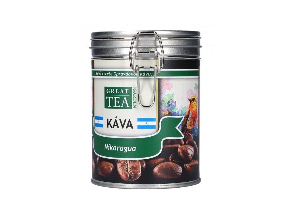 Káva arabica v dóze - Nikaragua