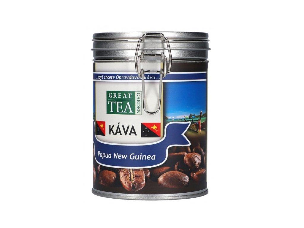 Káva arabica v dóze - Papua Nová Guinea