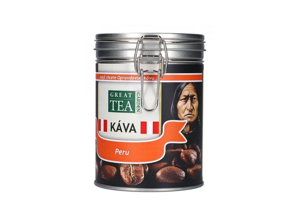 Káva arabica v dóze - Peru