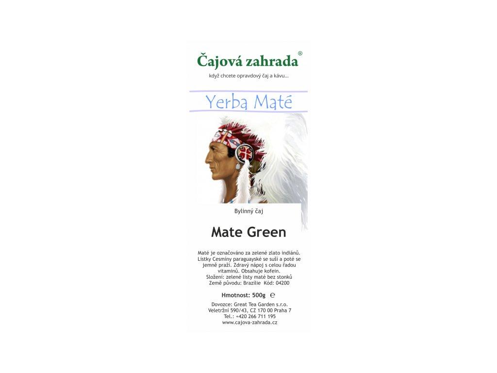 Mate green čaj | Energie co Vás nabije