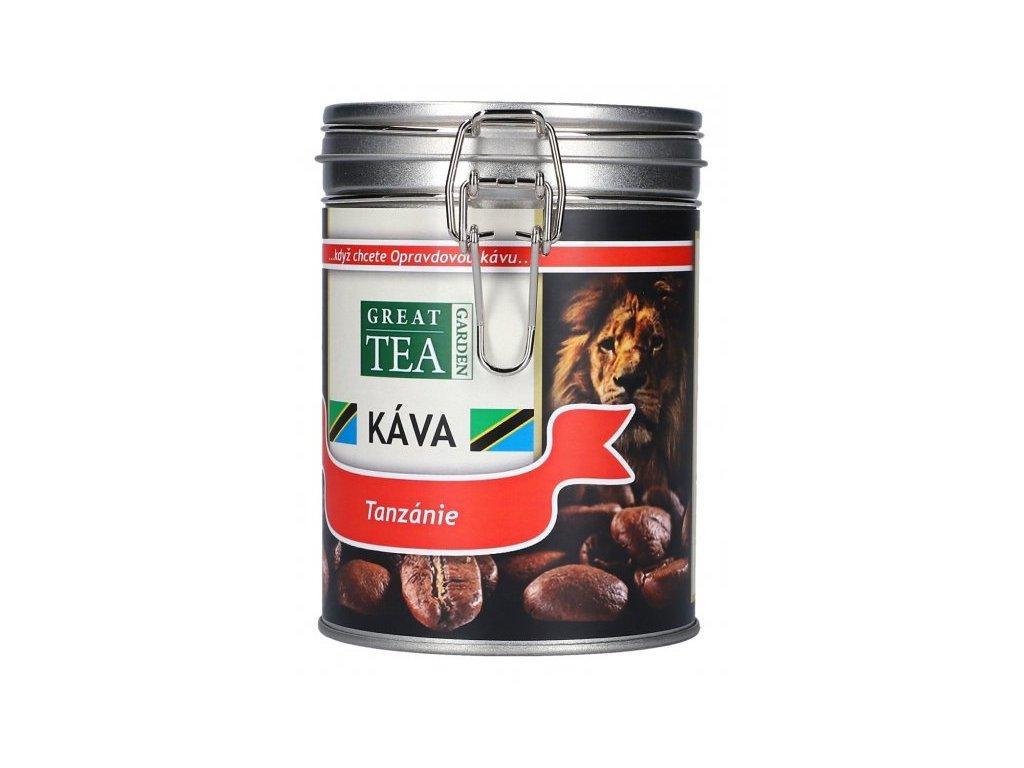 Káva arabica v dóze - Tanzánie