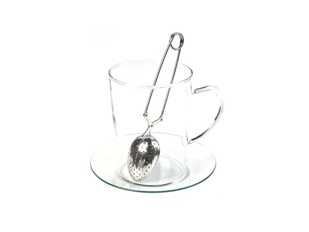 Sítko na čaj kleště Lžička_Čajová zahrada