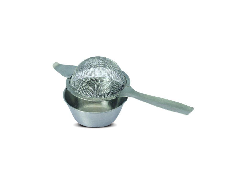 Sítko na čaj s miskou