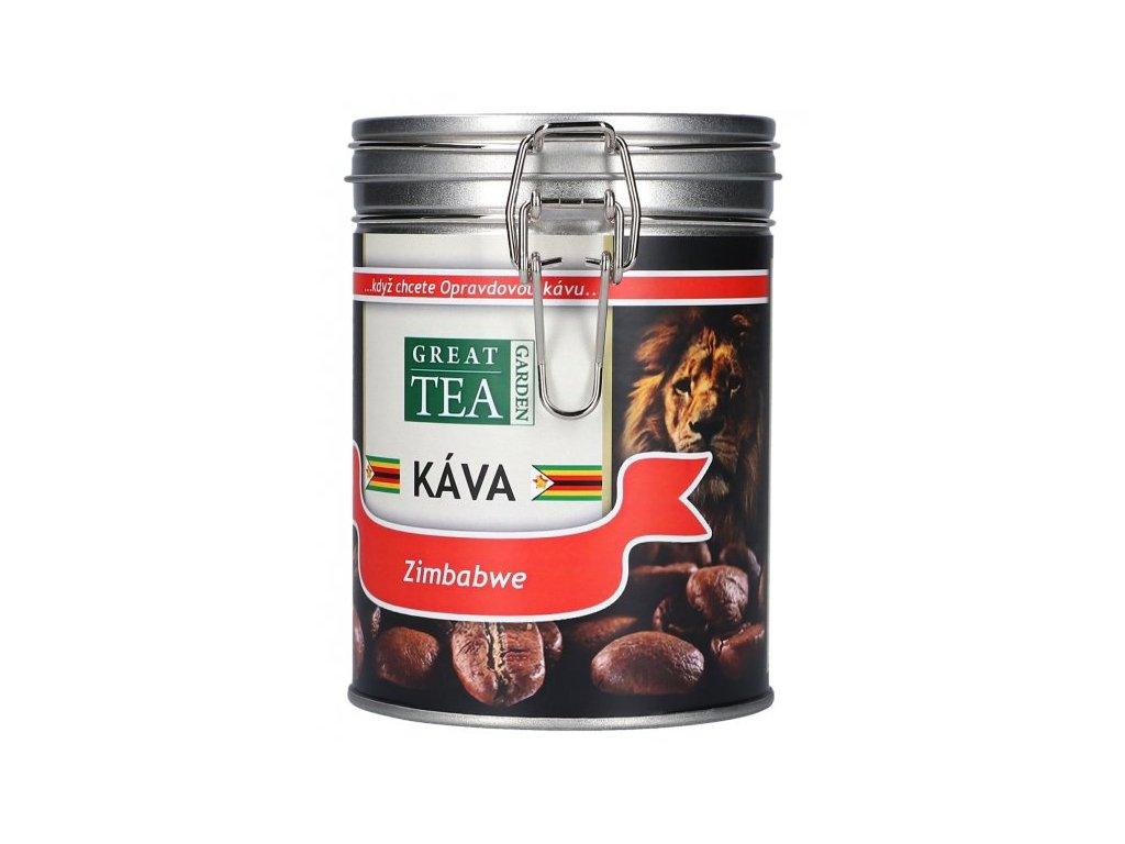 Káva arabica v dóze - Zimbabwe