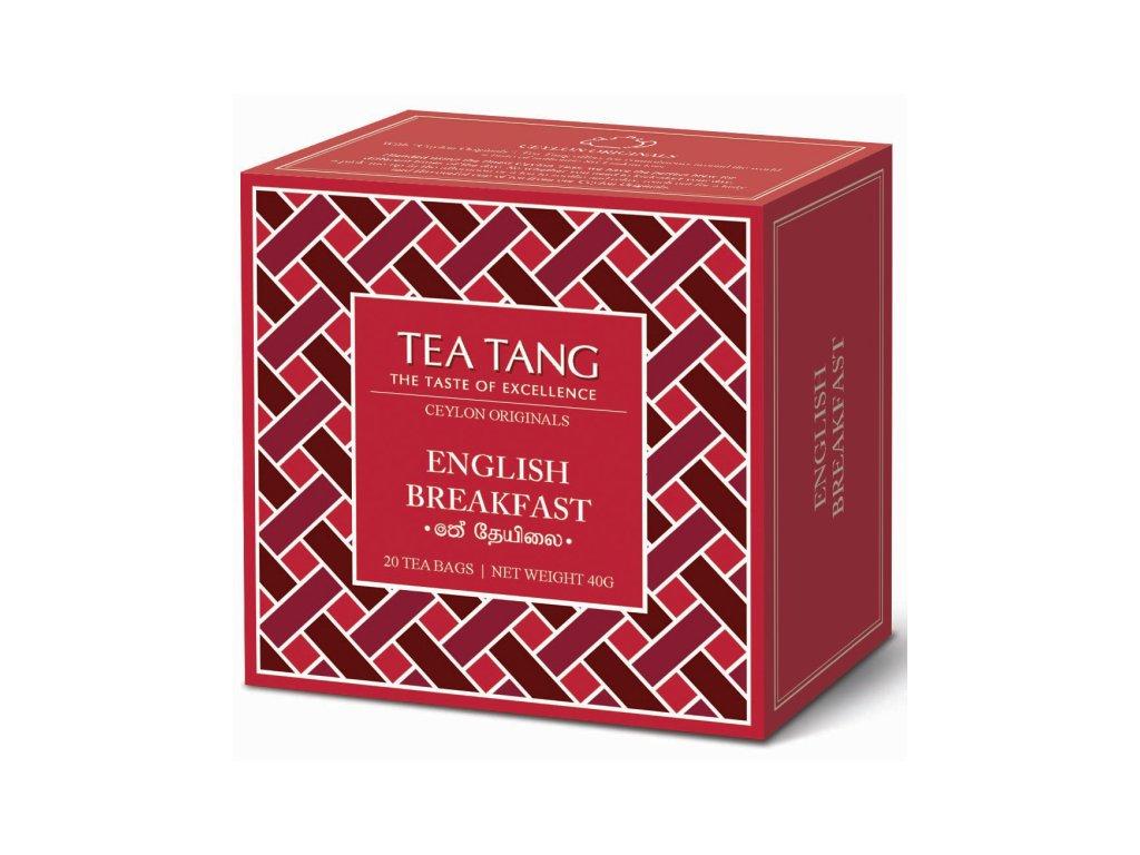 Černý sáčkový čaj Tea Tang - English Breakfast
