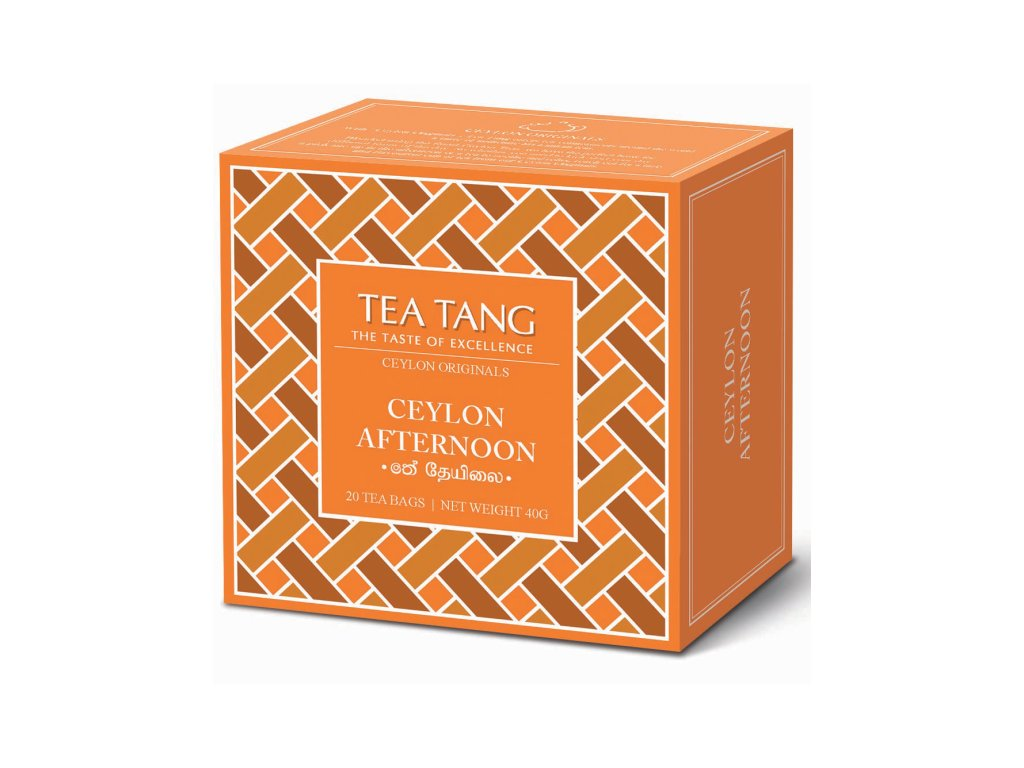 Černý sáčkový čaj Tea Tang - Afternoon