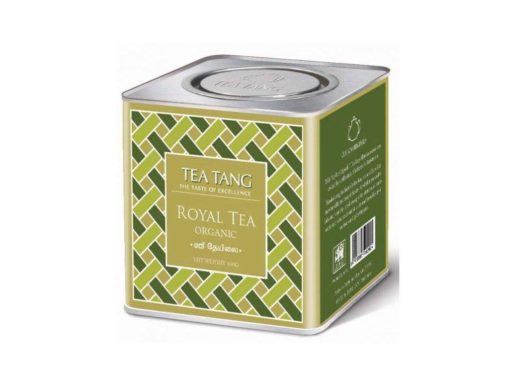 Sypaný cejlonský čaj v dóze - Royal Tea Organic