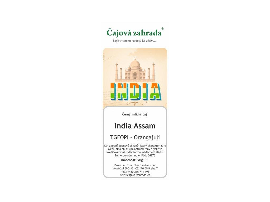 Sypaný černý čaj India Assam TGFOPI Orangajuli