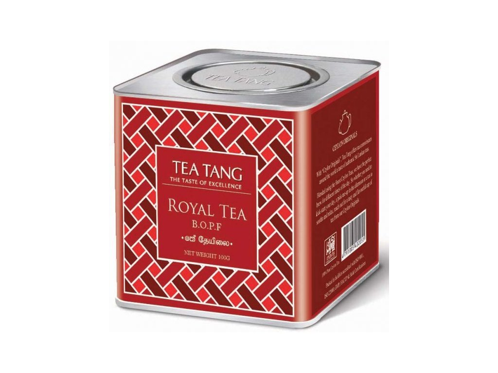 Sypaný cejlonský čaj v dóze - B.O.P.F.