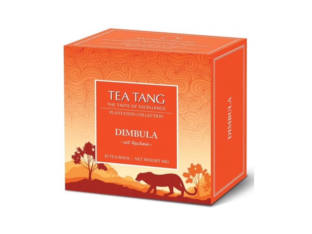 Černý sáčkový čaj Tea Tang - Dimbula