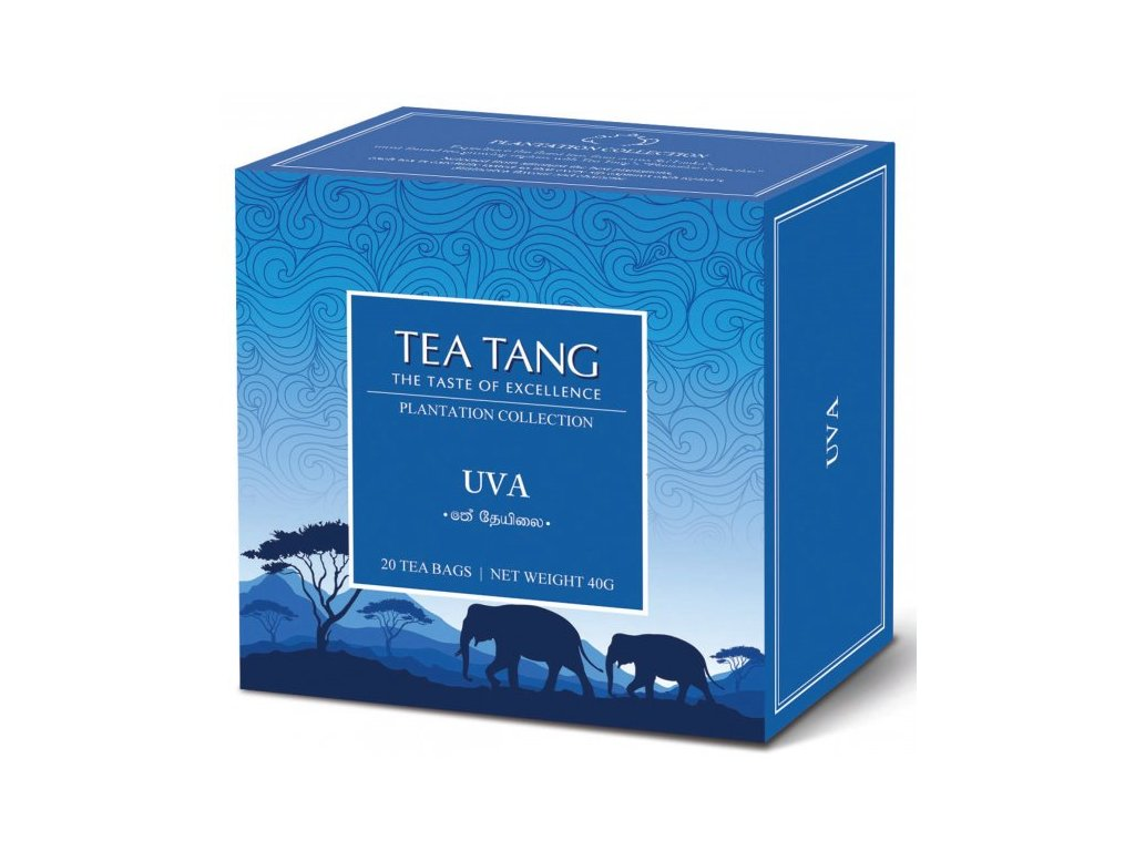 Černý sáčkový čaj Tea Tang - UVA