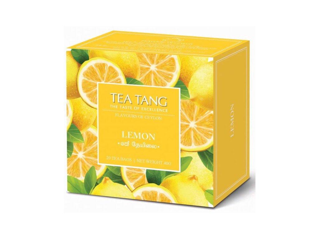 Černý sáčkový čaj Tea Tang - Citron