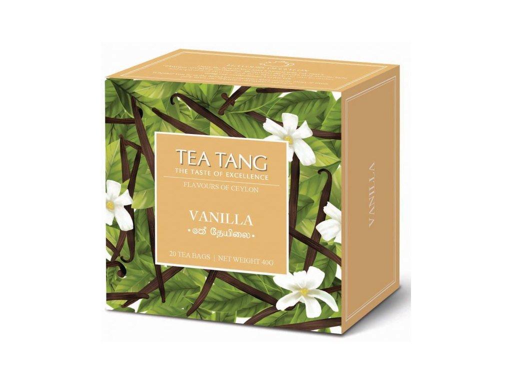 Černý sáčkový čaj Tea Tang - Vanilka