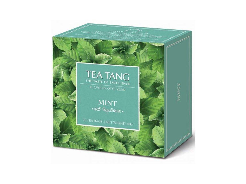 Černý sáčkový čaj Tea Tang - Máta