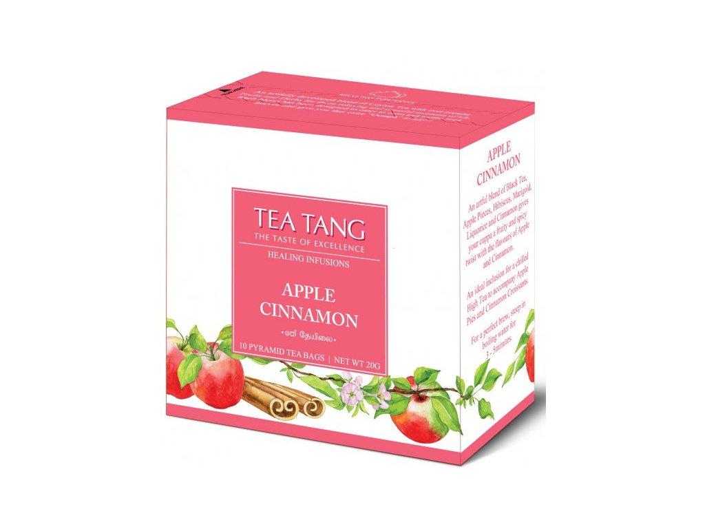 Černý sáčkový čaj Tea Tang - Jablko Skořice