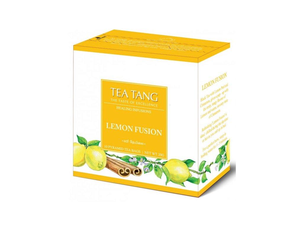Černý sáčkový čaj Tea Tang - Citron Skořice