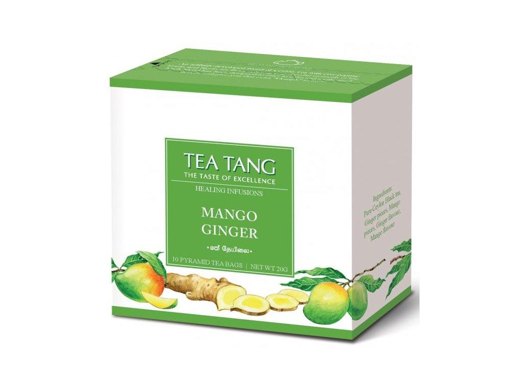 Černý sáčkový čaj Tea Tang - Mango Zázvor