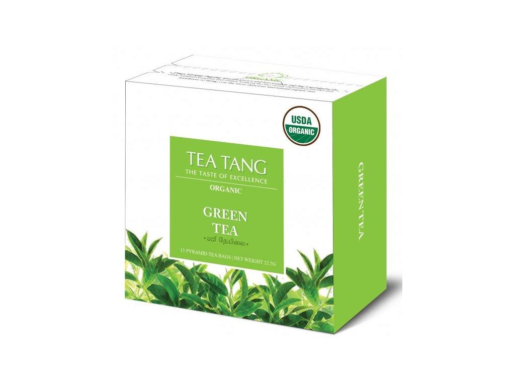 Zelený sáčkový čaj Tea Tang