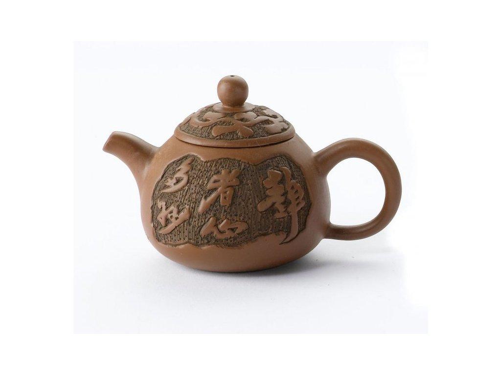 Čajová konvice Znaky - Yixing