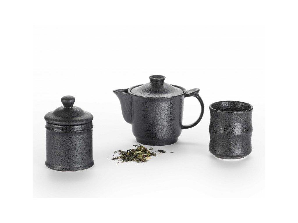 Japonská čajová souprava Samuraj
