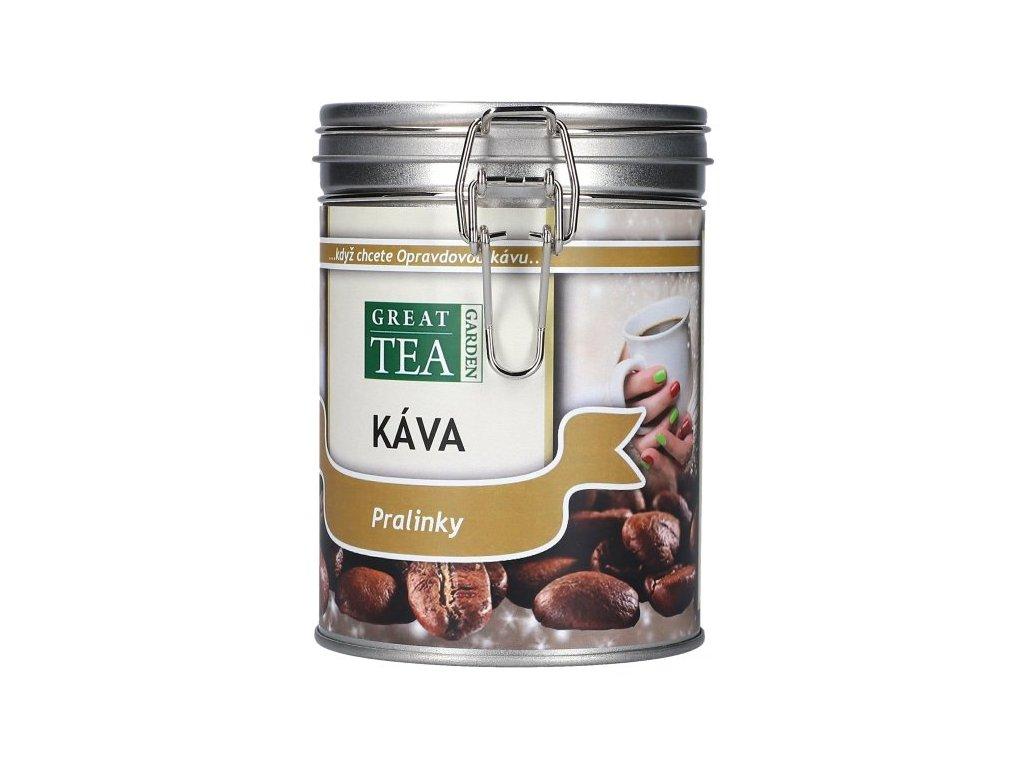 Vánoční aromatizovaná káva v dóze - Pralinky