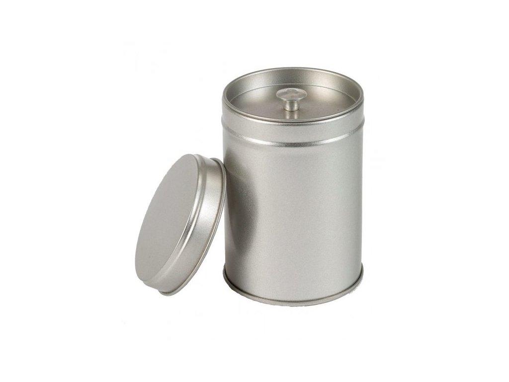 Dóza na čaj stříbrná West 50g