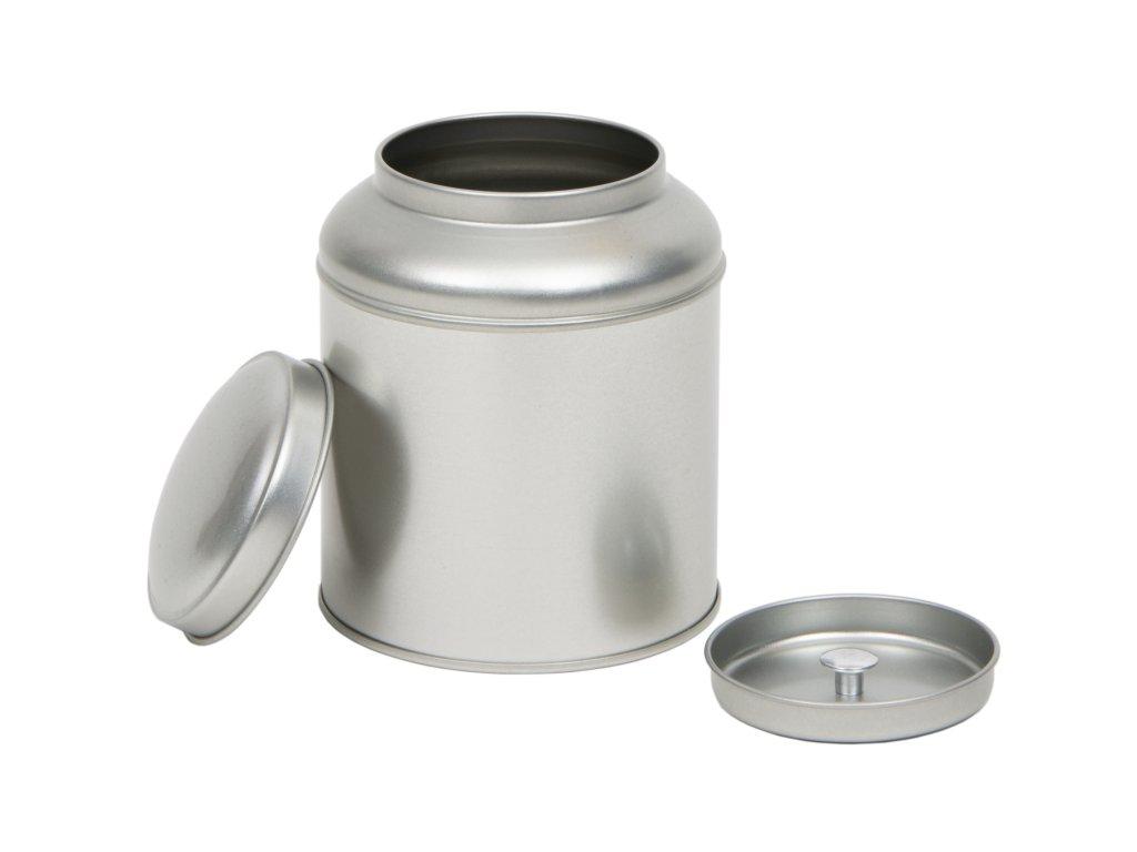 Dóza na čaj stříbrná Neapol