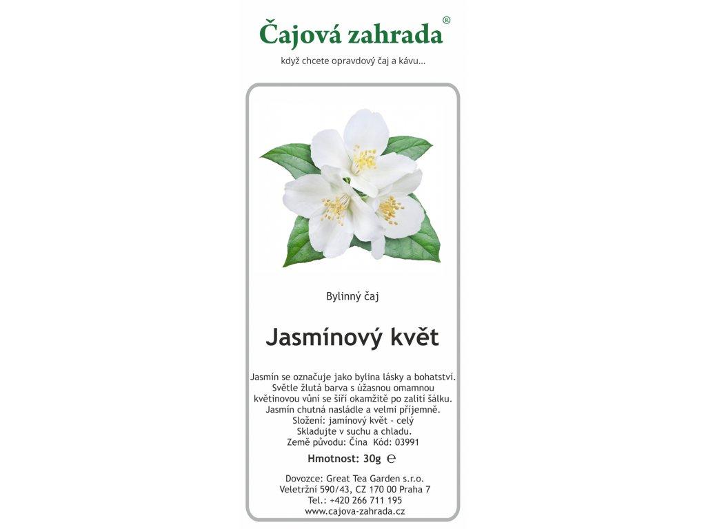 Jasmínový květ