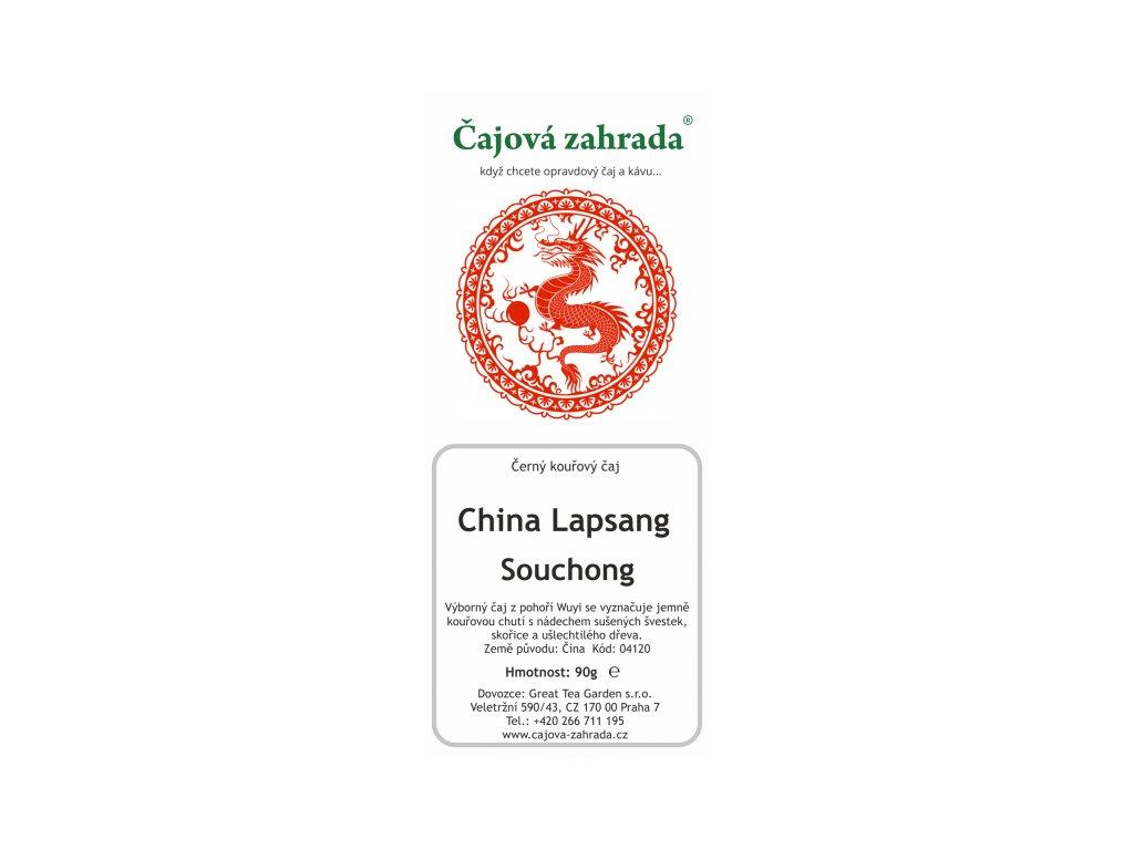Sypaný černý čaj China Lapsang Souchong