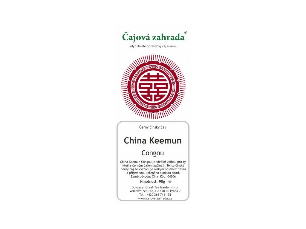Sypaný černý čaj China Keemun Congou