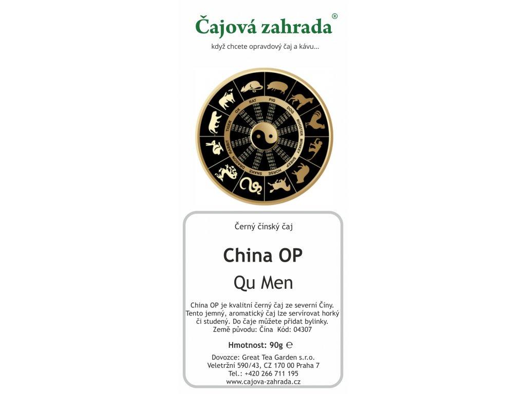 Sypaný černý čaj China OP