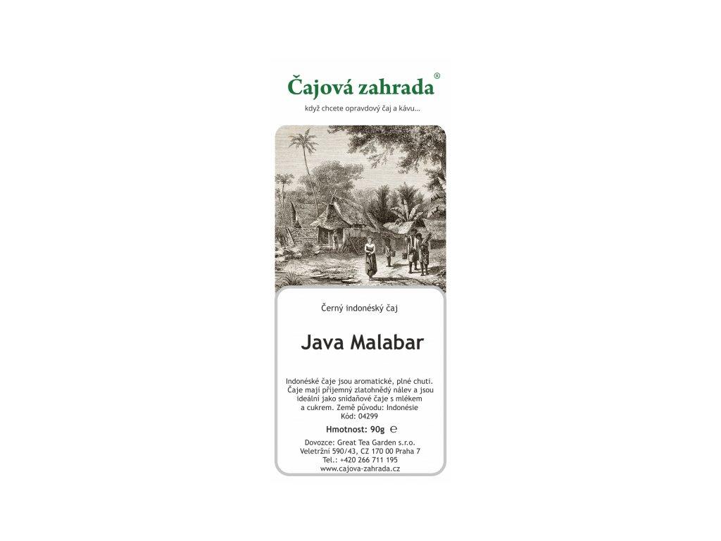 Jáva OP Malabar - černý čaj