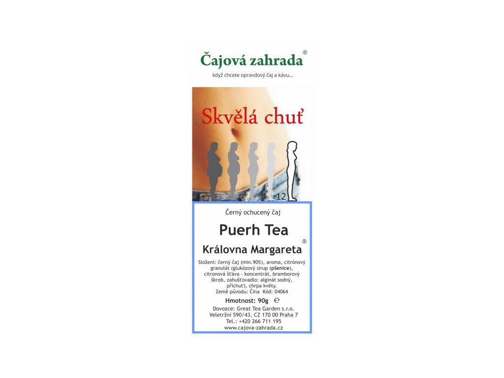 Puerh Tea Královna Margareta ® - černý ochucený čaj