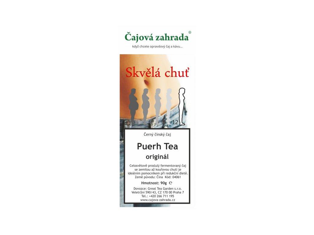 Puerh Tea Originál - černý čaj
