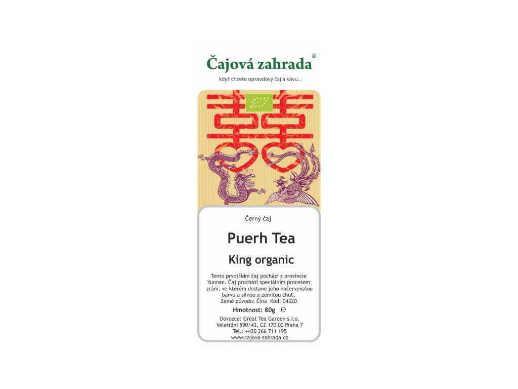 Puerh Tea King Organic - černý čaj