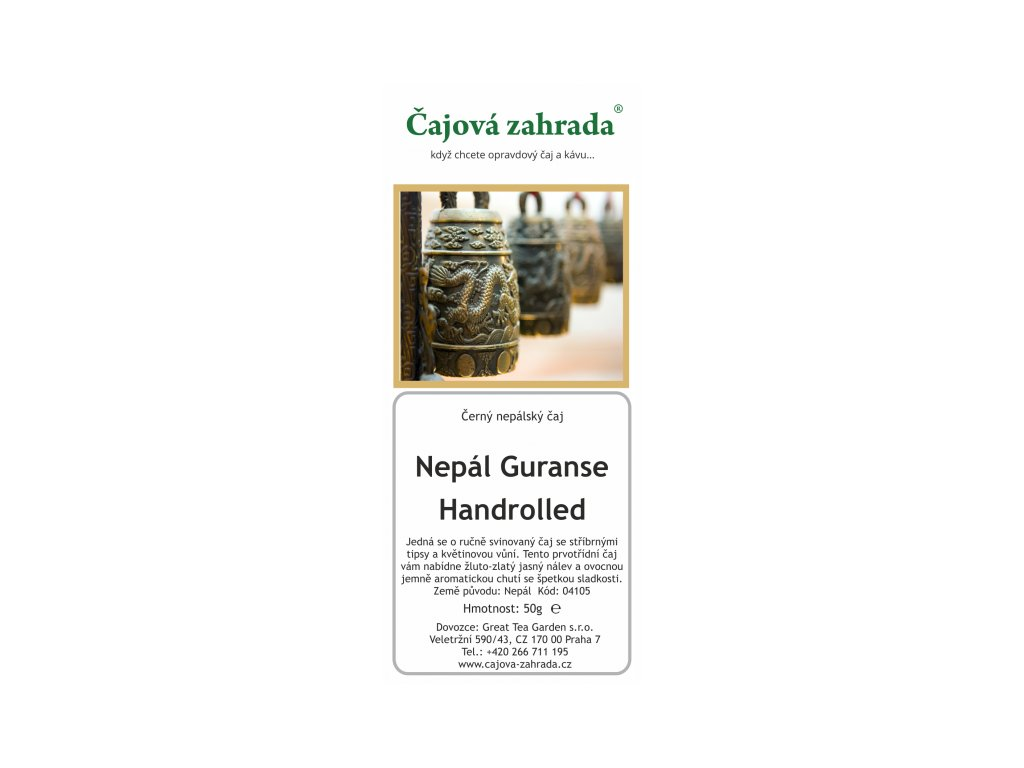 Nepál Guranse Handrolled - černý čaj