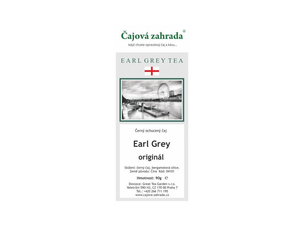 Sypaný černý čaj Earl Grey
