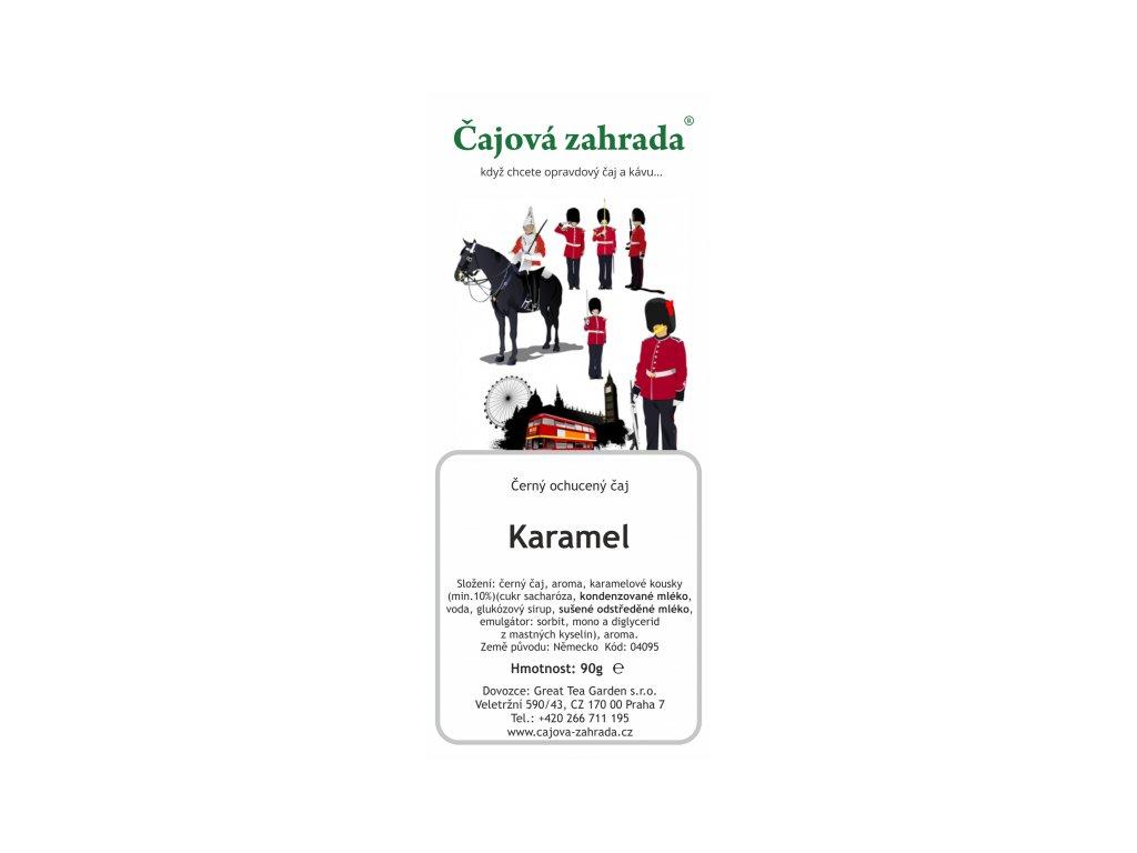 Černý ochucený čaj - Karamel