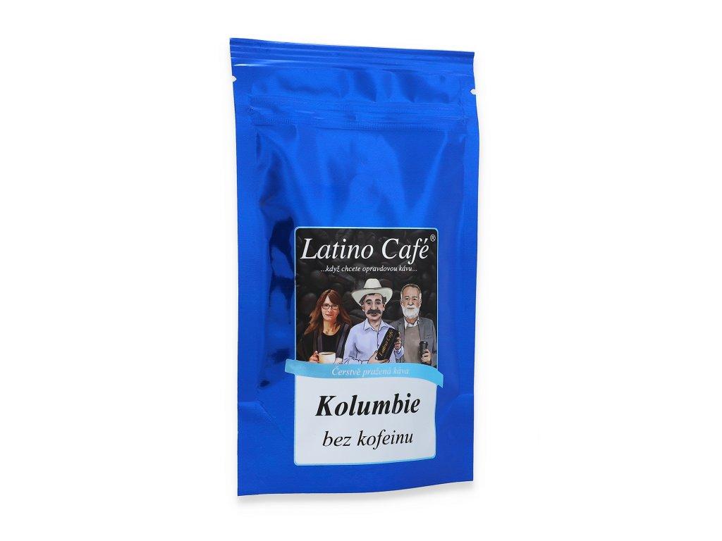 Kolumbie bez kofeinu