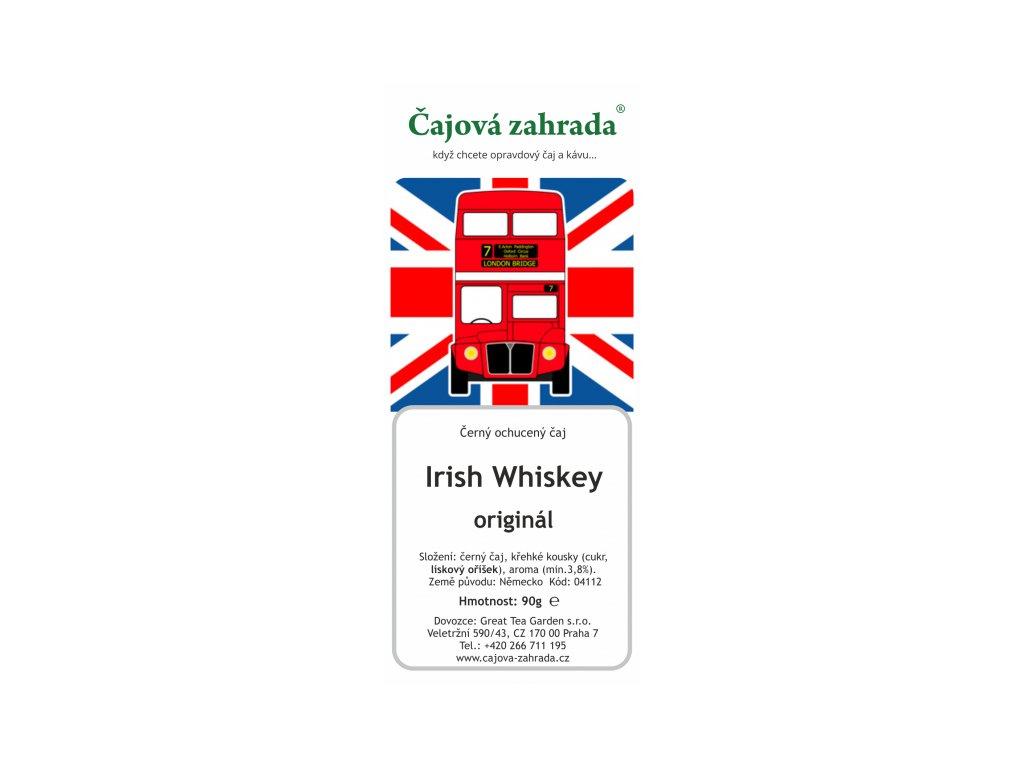 Černý ochucený čaj Irish Whiskey