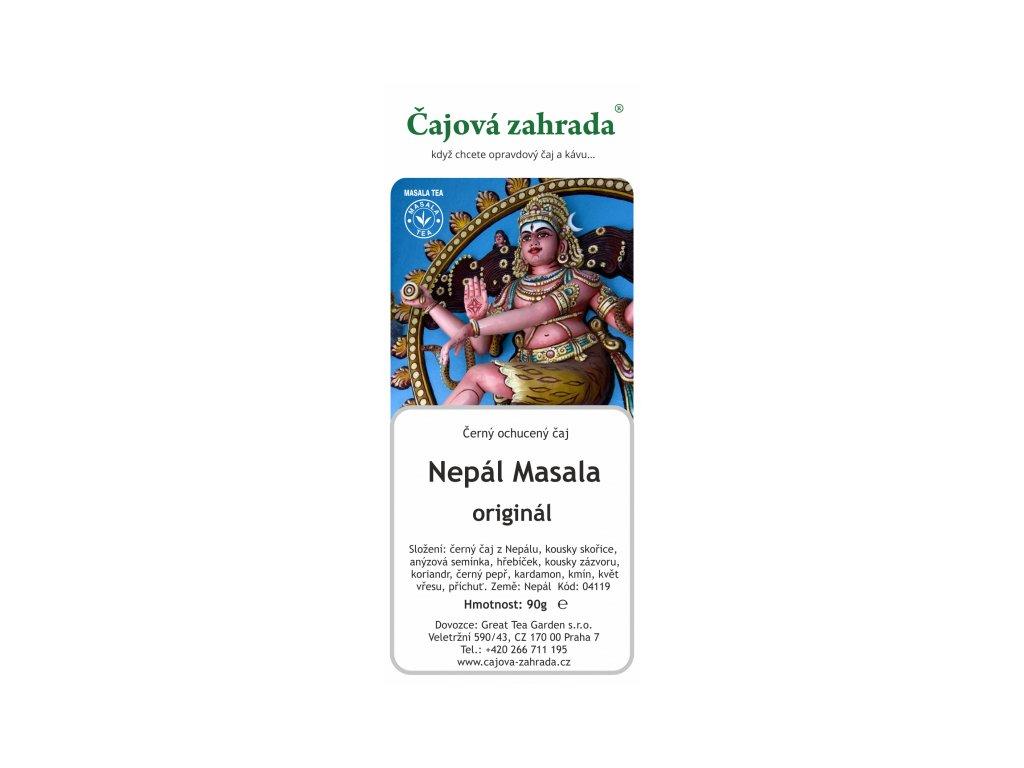 Černý ochucený čaj - Nepálská Masala