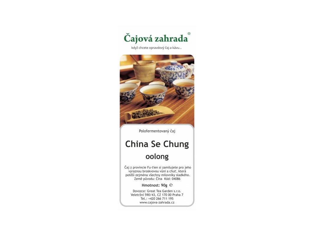Sypaný čaj Oolong Se Chung
