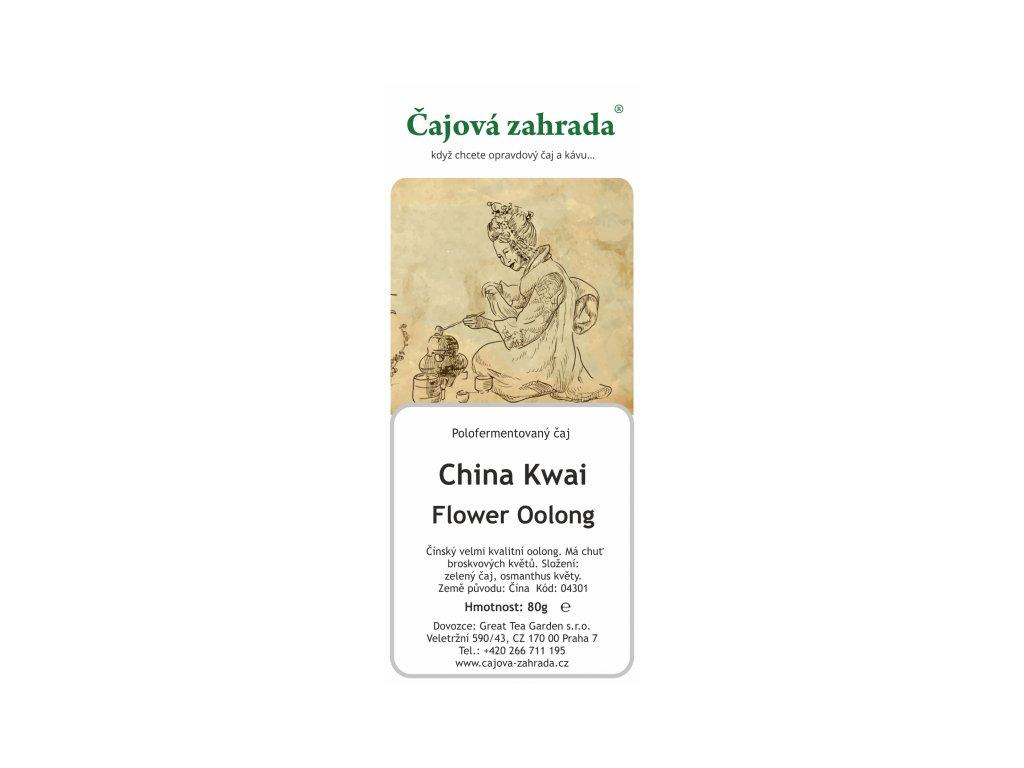 Sypaný Oolong čaj China Kwai Flower