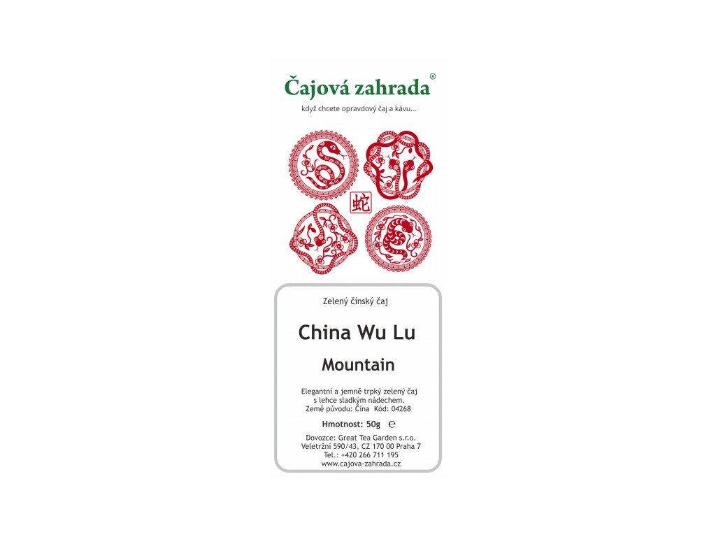 Zelený sypaný čaj China Wu Lu Mountain