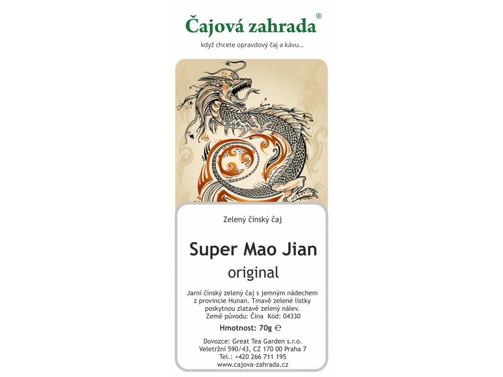 Zelený sypaný čaj China Super Mao Jian