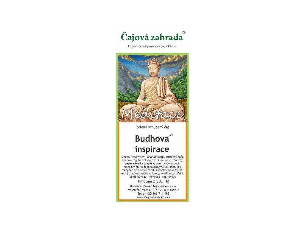 Zelený ochucený čaj Budhova inspirace