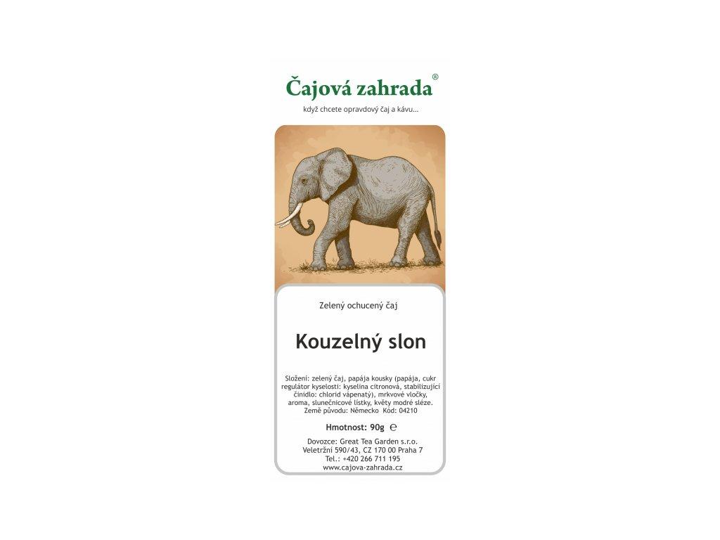 Zelený čaj Kouzelný slon