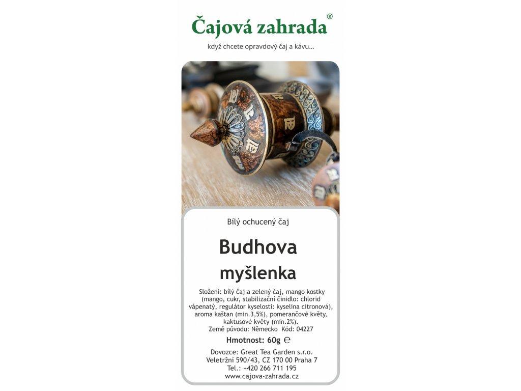 Bílý ochucený sypaný čaj Kaštan Kaktus
