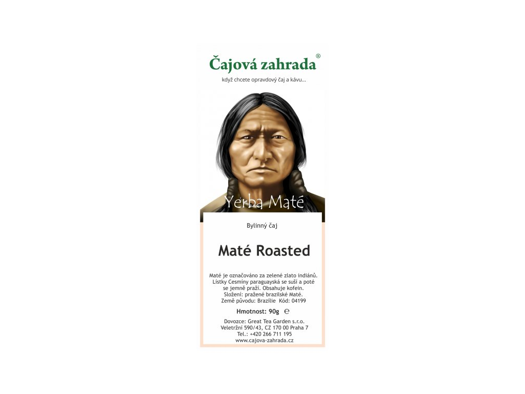 Maté Roasted čaj | Pražené | Energie